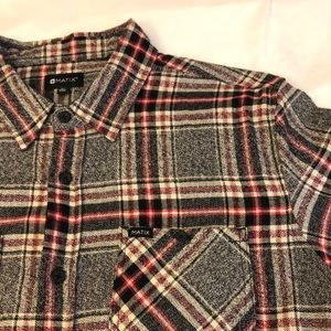 Matix Long Sleeve Flannel